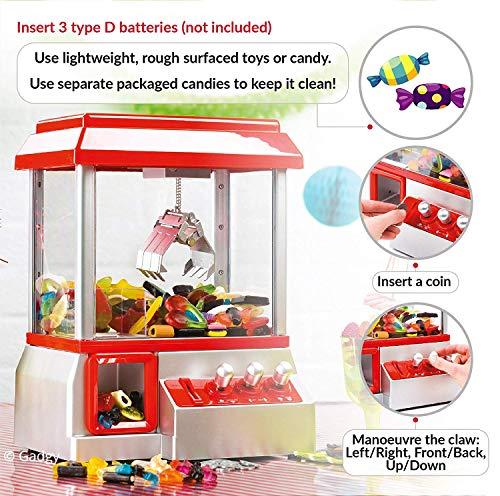 Gadgy Candy Grabber   Süßigkeiten Automat für Zuhause - 4