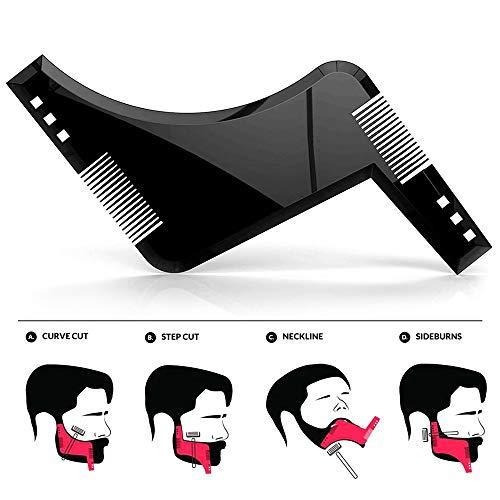 Bartschablone | Das Gadget für einen gepflegten Bart - 2