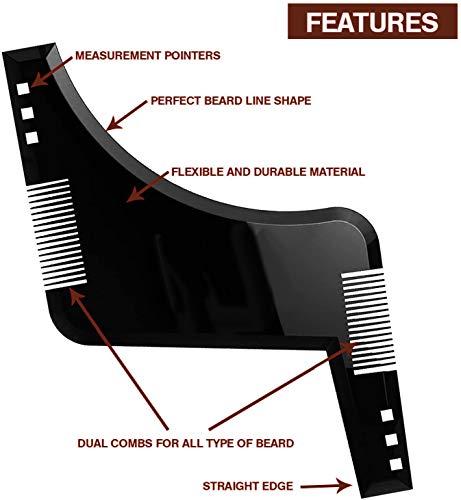 Bartschablone | Das Gadget für einen gepflegten Bart - 3