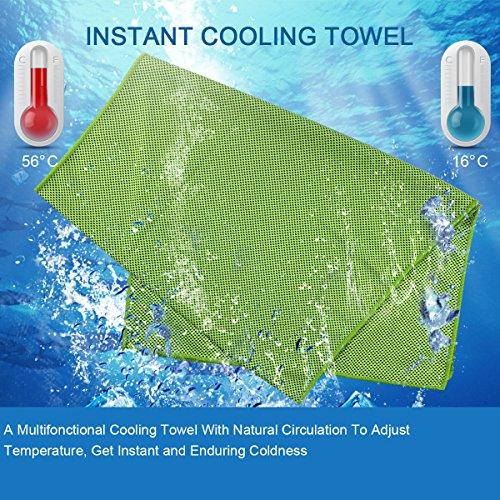 Kühlhandtuch   Praktisches Gadget mit Kühlfunktion - 3