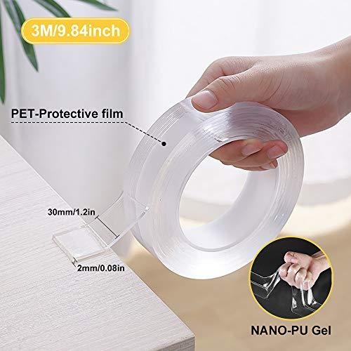 Nano Tape | Transparentes Klebeband mit Power - 3