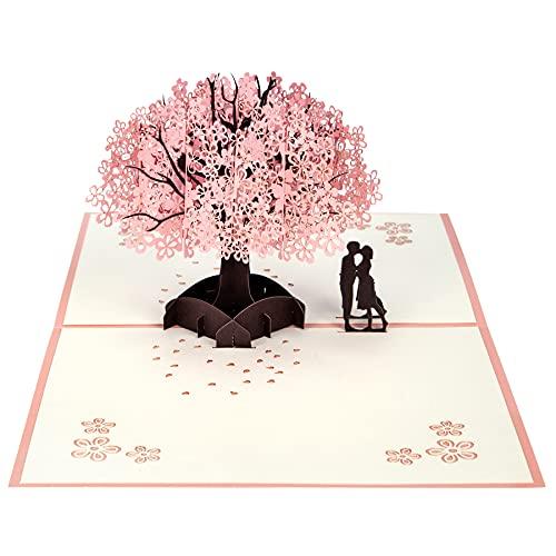 YHMall | Popup 3D Hochzeitskarte