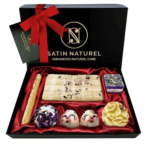 Satin Naturel | Bio Badepralinen Geschenkset