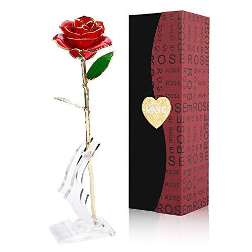 Gomyhom | 24k vergoldete Rose - Handgefertigt