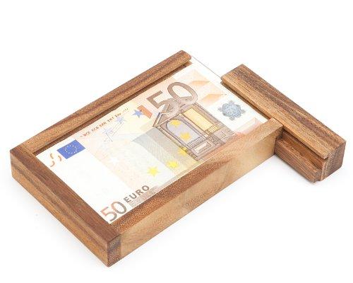 Casa Vivente | Magische Geldgeschenkbox mit Trickverschluss