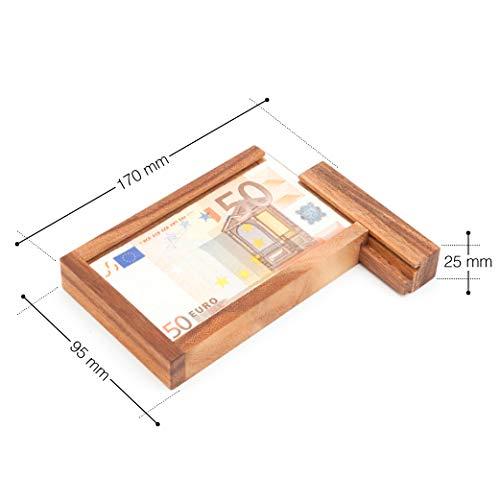 Casa Vivente | Magische Geldgeschenkbox mit Trickverschluss - 6