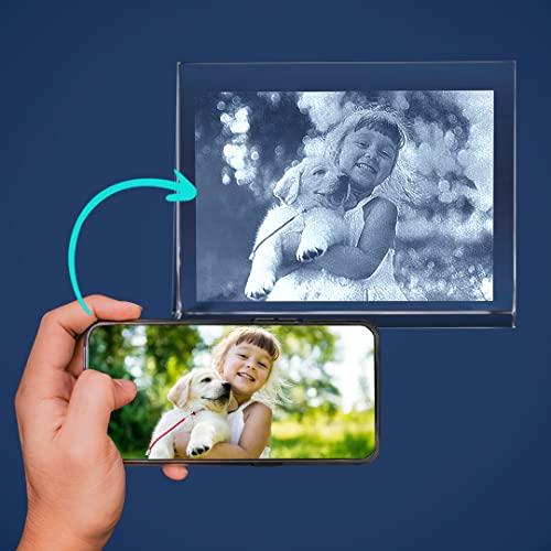 Isonio | Glasfoto - Ihr eigenes Foto in Viamant Glas gelasert