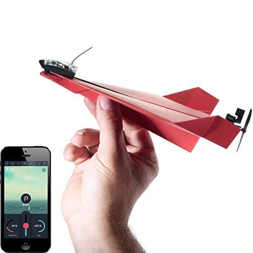 Powerup 3.0 | Smartphone gesteuerter Elektrobausatz für Papierflugzeuge