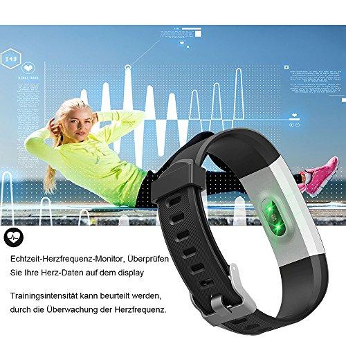 YAMAY Fitness Armband | Wasserdichte Smartwatch & Fitness Tracker - 2