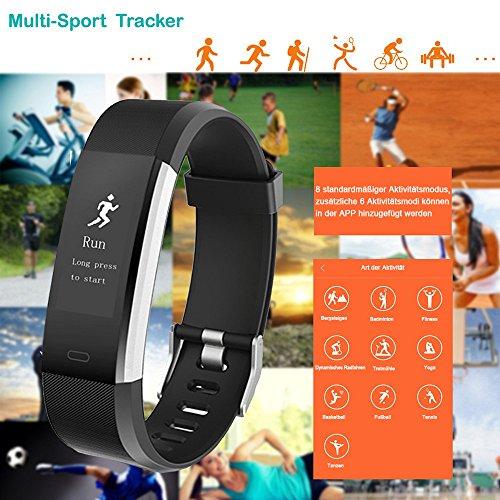 YAMAY Fitness Armband | Wasserdichte Smartwatch & Fitness Tracker - 4