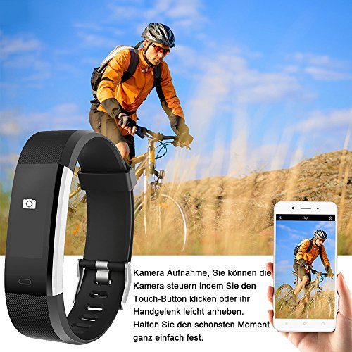 YAMAY Fitness Armband | Wasserdichte Smartwatch & Fitness Tracker - 5