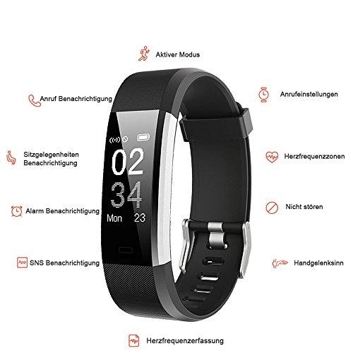 YAMAY Fitness Armband | Wasserdichte Smartwatch & Fitness Tracker - 6