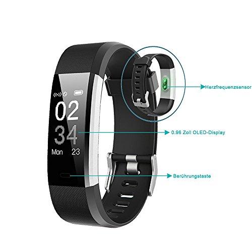 YAMAY Fitness Armband | Wasserdichte Smartwatch & Fitness Tracker - 9