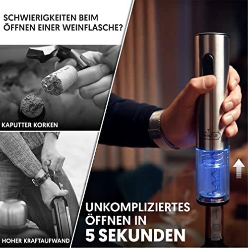 Twinz'up –  Elektrischer Korkenzieher - 3