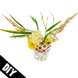Marmeladenglas Vase