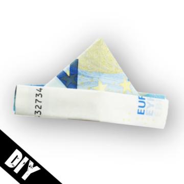 Geldschein falten Hut